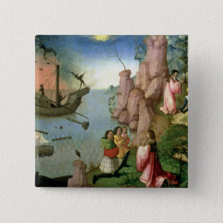 Shipwreck caused by Demons 15 Cm Square Badge