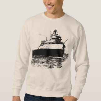Shipwreck ~ Edmund Fitzgerald Sweatshirt