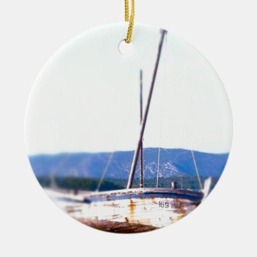 Shipwreck in  Croatia Ornaments