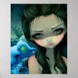 Shipwreck Siren ART PRINT Jasmine Becket-Griffith