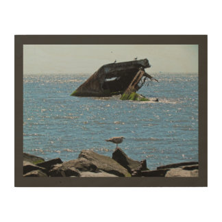 Shipwreck Wood Canvas