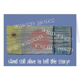 Shipwrecked card