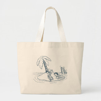 Shipwrecked Large Tote Bag