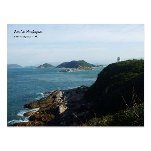 shipwrecked, Lighthouse of NaufragadosFlorianópoli Postcards
