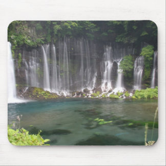 Shiraito Waterfalls, Japan mousepad