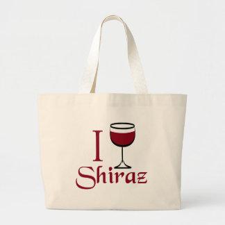 Shiraz Wine Lover Gifts Canvas Bag