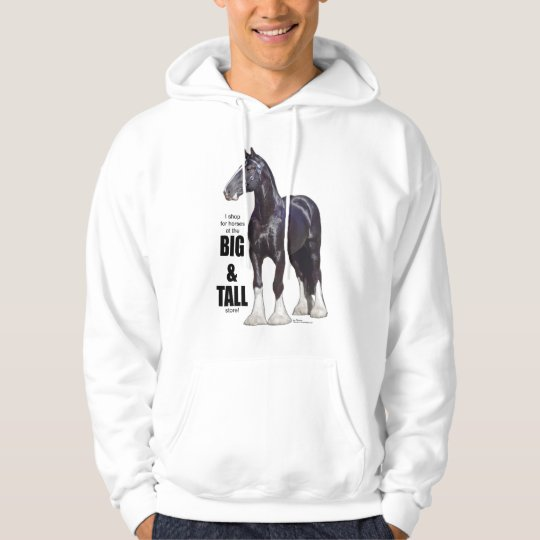 Shire Draught   Horse Hoodie