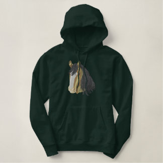 Shire Horse Embroidered Hoodie