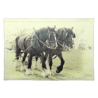 SHIRE HORSE PLACEMAT