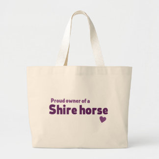 Shire horse canvas bags