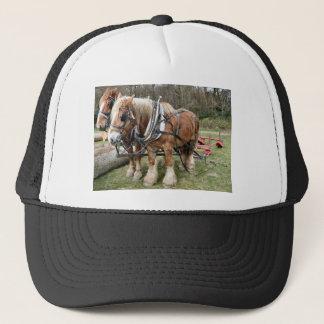 Shire Horses Trucker Hat
