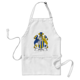 Shirley Family Crest Standard Apron