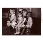 Shirley Temple and Gang.jpeg Greeting Card