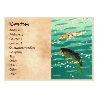 Shiro Kasamatsu Karp Koi fish pond japanese art Pack Of Chubby Business Cards