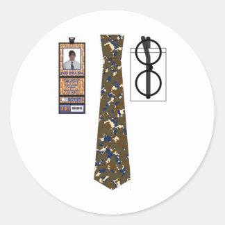 Shirt020 - Camoflouge copy Round Sticker
