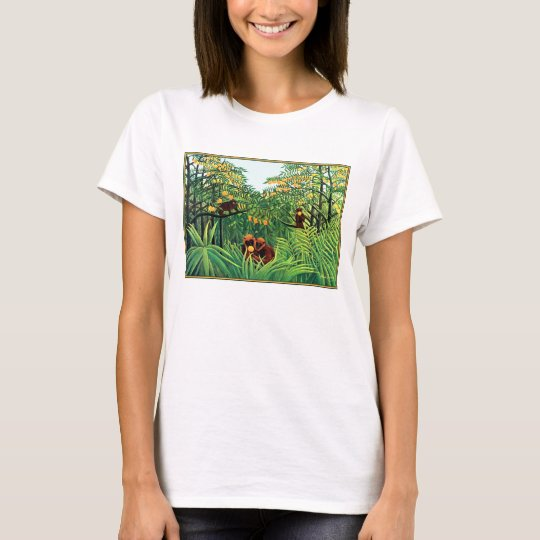 "Shirt: ""Apes in the Orange Grove"" by Rousseau T-Shirt"