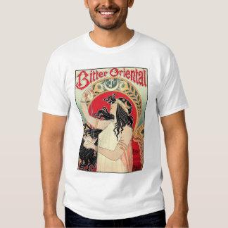 Shirt: Art Nouveau - Bitter Oriental T-shirts