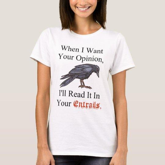 shirt Entrails on Wht