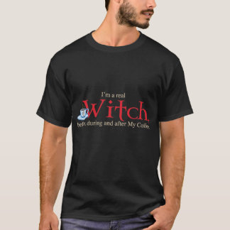shirt H Coffee Witch on Blk