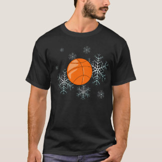 Shirt - Holiday Snowflakes Basketball