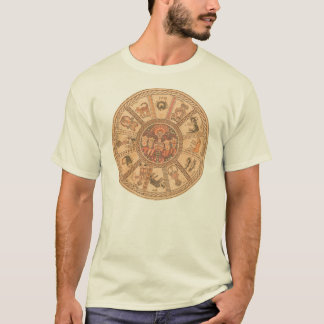 Shirt: Israeli Hebrew Zodiac Wheel T-Shirt