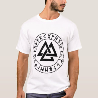 shirt Tri-Triangle Rune Shield