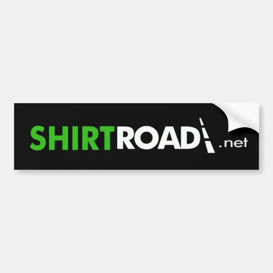 ShirtRoad.net Bumper Sticker