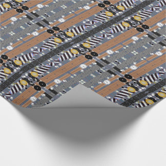 Shirts Belts Ties Fashion Wrapping Paper