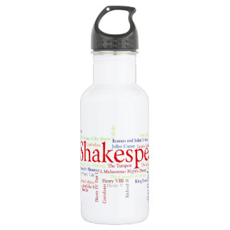 Shirts, Mugs, etc. Inspired by Shakespeare's Plays 532 Ml Water Bottle
