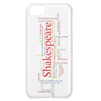 Shirts, Mugs, etc. Inspired by Shakespeare's Plays iPhone 5C Case