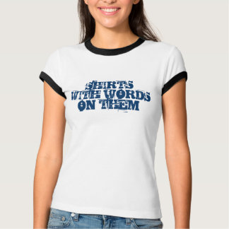 Shirts With Words on Them
