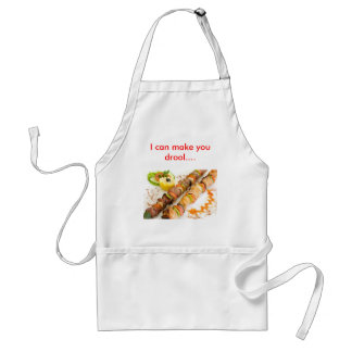Shish-kebab, I can make you drool.... Standard Apron