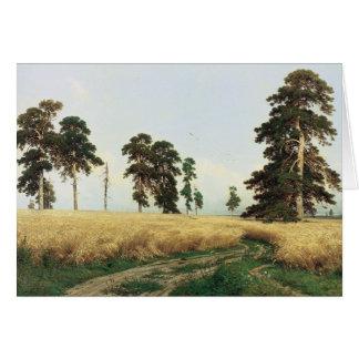 """Shishkin's """"Rye"""" Card"""