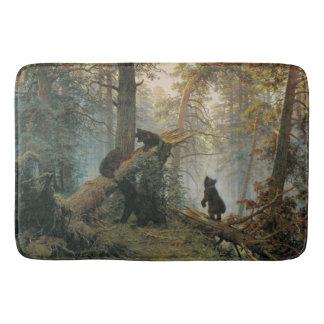 Shiskin's Forest art bath mat