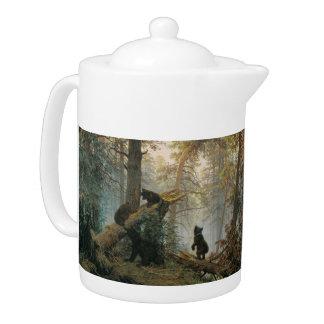 Shiskin's Forest art teapot