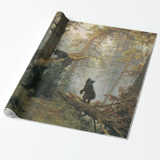 Shiskin's Forest art wrapping paper