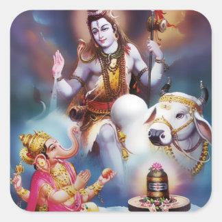 Shiva & Ganesha Stickers