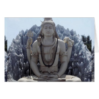 SHIVA - Himalayan Lord of PEACE Card