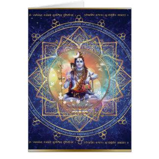 Shiva Mahamrityunjaya - Karma purifying Card