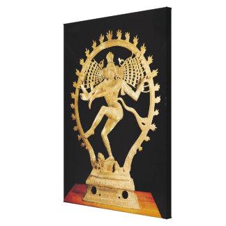 Shiva Nataraja Canvas Print