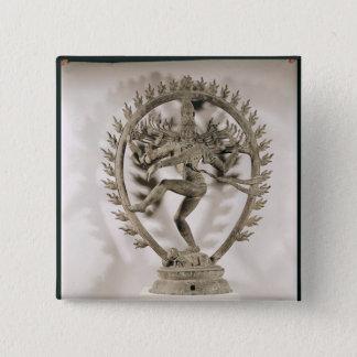 Shiva Nataraja, Dravidian 15 Cm Square Badge