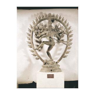Shiva Nataraja, Dravidian Canvas Print