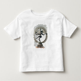 Shiva Nataraja, Tamil Nadu, Late Chola (bronze) Toddler T-Shirt