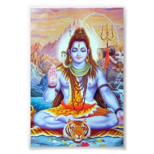 "Shiva Print (4"" x 6"") - Version 1 Photo"
