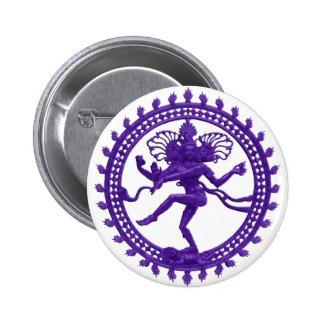 Shiva the Cosmic Dancer 6 Cm Round Badge