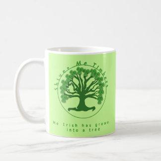 Shiver me Timbers Basic White Mug