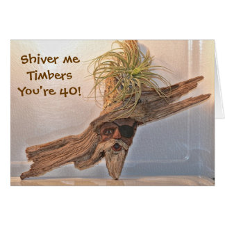 Shiver Me Timbers Birthday Card