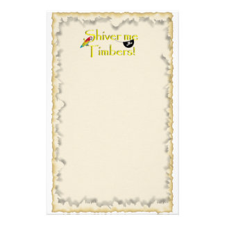 SHIVER ME TIMBERS! STATIONERY