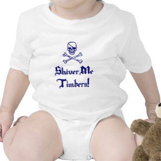Shiver Me Timbers Bodysuits