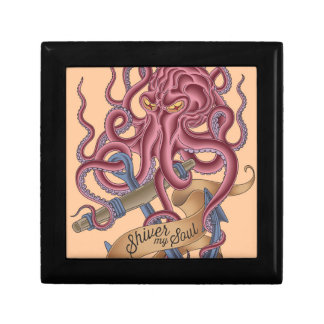 Shiver My Soul | Octopus Tatto Gift Box